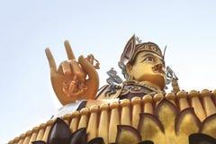 Padmasambhava statue near Rewalsar Lake (Tso Pema Lotus) in Rewalsar town, India Royalty Free Stock Photography