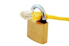 padock de réseau câblé Images stock