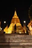 Padoga in de tempel van smaragdgroene Boedha Royalty-vrije Stock Foto's