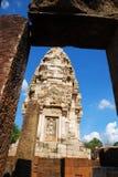 Padoga at Sanctuary, Thailand. Stone Stupa for god sacrifice at Thaliand Royalty Free Stock Photo