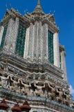 Padoga van wat arun, Bangkok Stock Fotografie