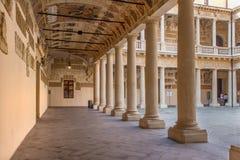 Padoue - l'oreillette du del BO de Palazzo Image stock