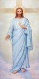 Padoue - le coeur de la peinture de Jesus Christ dans la cathédrale de Santa Maria Assunta (Duomo) images libres de droits