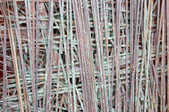 Padoue - le détail de la sculpture moderne en métal par Antonio Ievolella (2005) Images libres de droits