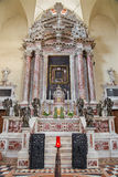 Padova - cappella barrocco Altare del Santtisimo (1655 - 1670) progettato da Giuiseppe Sardi nel dei Servi di Santa Maria della c Immagini Stock Libere da Diritti