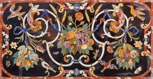 Padova - il mosaico di pietra sull'altare laterale dei Di Santa Giustina della basilica Fotografie Stock Libere da Diritti