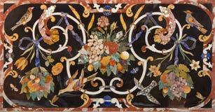 Padova - il mosaico di pietra sull'altare laterale dei Di Santa Giustina della basilica Fotografia Stock Libera da Diritti
