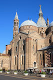 PADOVA, ITALY - MAY 13: The Basilica of St. Anthony in May 13, 2013. This temple is one of the most famous holy places of Christendom Royalty Free Stock Photos