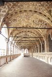 Palazzo della Ragione. At Padova - Italy - On october 2018 - Palazzo della Ragione, the medieval Palace of Justice of Padova, located between two piazze: Piazza royalty free stock image