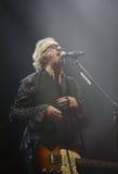Padova PD, Italien - Maj 19, 2017: Live Concert av Umberto Tozzi Royaltyfri Fotografi