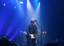 Padova PD, Italien - Maj 19, 2017: Live Concert av Umberto Tozzi Royaltyfria Bilder