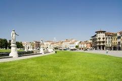 Padova, Prato della Valle. Stock Images