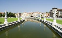 Padova, Prato della Valle. Padova,Italy. Square Prato della Valle Royalty Free Stock Photography