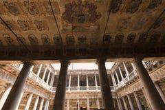 Padova (Veneto), corte antica dell'università Fotografia Stock Libera da Diritti
