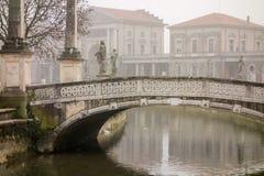 Padova w mgle Obrazy Stock