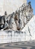 Padrão dos Descobrimentos in Lisbon, Portugal Royalty Free Stock Images