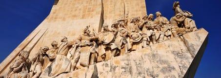Padrão DOS Descobrimentos, Lissabon, Portugal Arkivbild