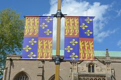 Padrão do rei Richard III imagens de stock