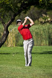 Padraig Harrington on the 17th Fairway - NGC2010 Royalty Free Stock Image