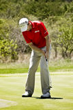 Padraig Harrington no ? verde - NGC2010 Foto de Stock