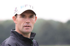 Padraigh Harrington, Vivendi golf cup, sept 2010 Royalty Free Stock Images