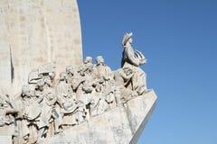 Padrao dos Descobrimentos. (Monument to the discoveries Stock Photos