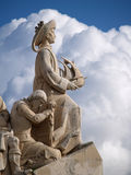 Padrao dos Descobrimentos. Sculpture on the Discoveries Age and Portuguese navigators in Lisbon, Portugal Stock Images