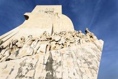 Padrao dos Descobrimentos and blue sky Royalty Free Stock Photos
