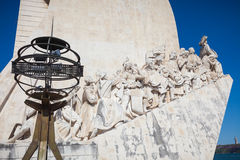 Padrao dos Descobrimentos in Lisbon Stock Photography