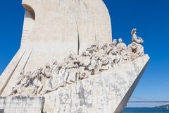 Padrao dos Descobrimentos in Lisbon Royalty Free Stock Photo
