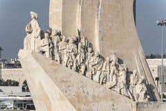 Padrão dos Descobrimentos Lisbon. Stock Photos