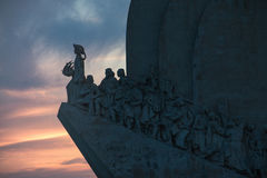 Padrao dos Descobrimentos. Monument to the Discoveries - Belem - Lisbon - Portugal Royalty Free Stock Photography