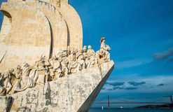 The Padrao dos Descobrimentos (Monument to the Discoveries) cele Royalty Free Stock Image