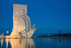 The Padrao dos Descobrimentos (Monument to the Discoveries) cele Stock Images