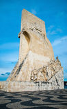 The Padrao dos Descobrimentos (Monument to the Discoveries) Royalty Free Stock Photography