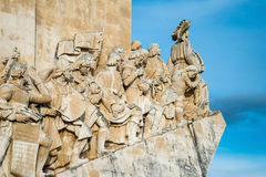 The Padrao dos Descobrimentos (Monument to the Discoveries) Royalty Free Stock Image