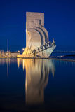 The Padrao dos Descobrimentos (Monument to the Discoveries) Royalty Free Stock Photos