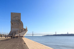 Padrao dos Descobrimentos - Monument to the Discoveries Stock Photography
