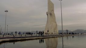 Padrao dos Descobrimentos w Lisbon zdjęcie wideo