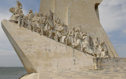 Padrao dos descobrimentos.Western profile. Stock Photography