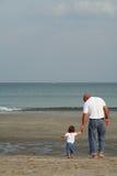 Padre & bambino Fotografia Stock