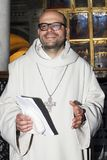 Padre Bernardo Gianni fotografia royalty free