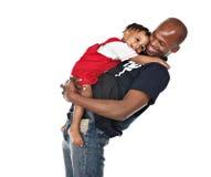 Padre cariñoso Foto de archivo libre de regalías