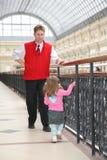 Padre con il bambino immagine stock libera da diritti