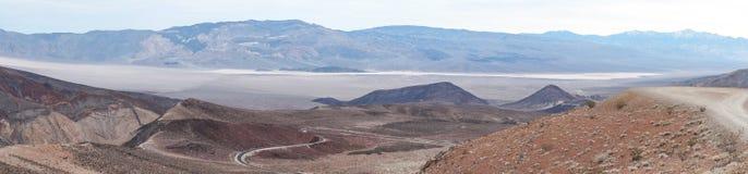 Padre Crowley Vista, parco nazionale di Death Valley, CA, NV, U.S.A. Immagine Stock Libera da Diritti
