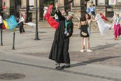 Padre da dança Fotos de Stock Royalty Free