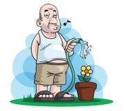 Padre Day Gardening stock de ilustración