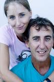 padre della figlia Fotografie Stock Libere da Diritti