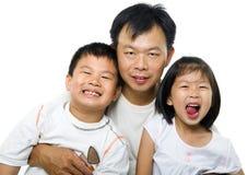 Padre e bambini Fotografie Stock Libere da Diritti