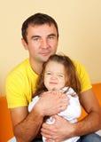 Padre e Doughter Immagini Stock Libere da Diritti